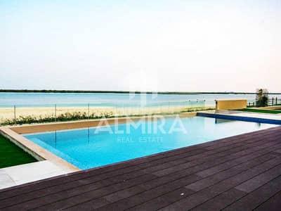 5 Bedroom Villa for Sale in Saadiyat Island, Abu Dhabi - Corner and Direct to the Mangrove I Private Pool