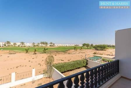 3 Bedroom Townhouse for Sale in Al Hamra Village, Ras Al Khaimah - Beautiful Golf View | Tenanted | Priced To Sell