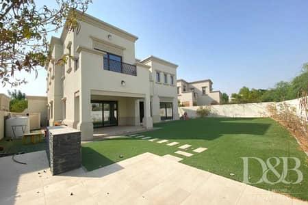 فیلا 4 غرف نوم للايجار في المرابع العربية 2، دبي - Type 2 | Maids | Single Row | Shared Pool
