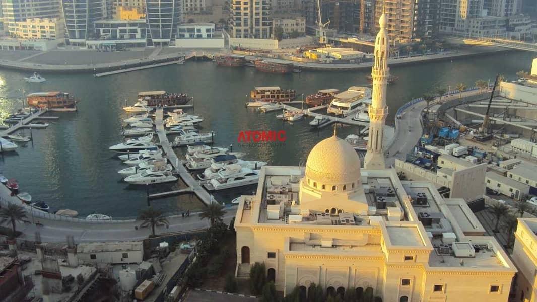 14 FULLY FURNISHED 1 BED ROOM IN DUBAI MARINA - MARINA VIEW - 42000/-