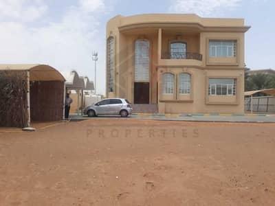 4 Bedroom Villa for Rent in Al Towayya, Al Ain - Separate Entrance 4BHK Villa in Tawia Al Ain   Huge Yard   Balcony