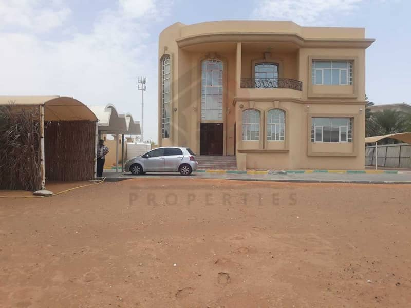 Separate Entrance 4BHK Villa in Tawia Al Ain | Huge Yard | Balcony