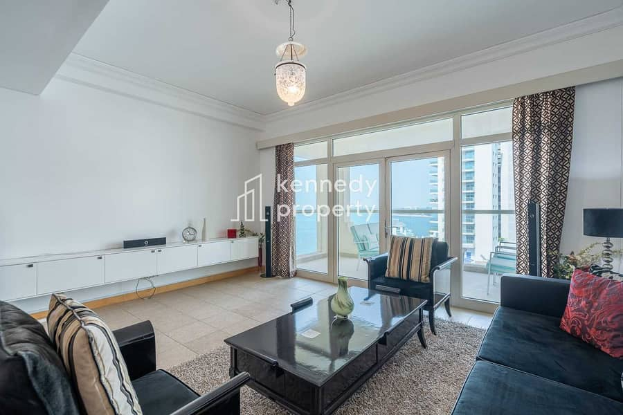 2 Fully Furnished   Amazing Sea View   High ROI