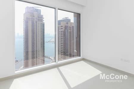 شقة 2 غرفة نوم للايجار في ذا لاجونز، دبي - Sea & Burj Khalifa Views | High Floor | Quality Finish