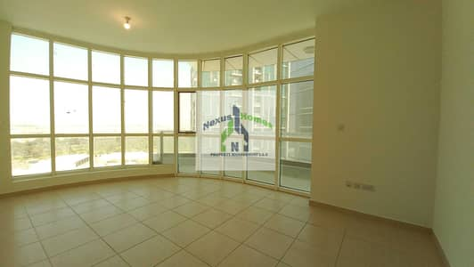3 Bedroom Flat for Rent in Danet Abu Dhabi, Abu Dhabi - Spacious 3BHK with Sparkling pool and Gym