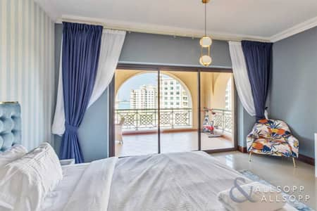 3 Bedroom Flat for Sale in Palm Jumeirah, Dubai - 3 Beds + Maids | Furnished | High Floor
