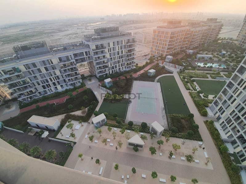 Balcony | Brand New Studio | Park & Pool View