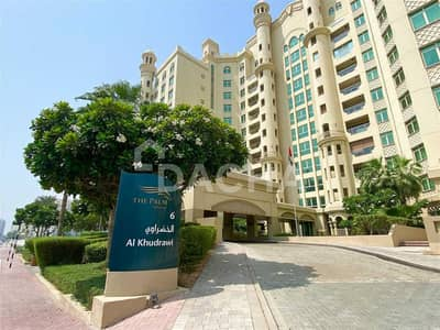 1 Bedroom Apartment for Rent in Palm Jumeirah, Dubai - Stunning sea view / Unfurnished / Avail 19th of October