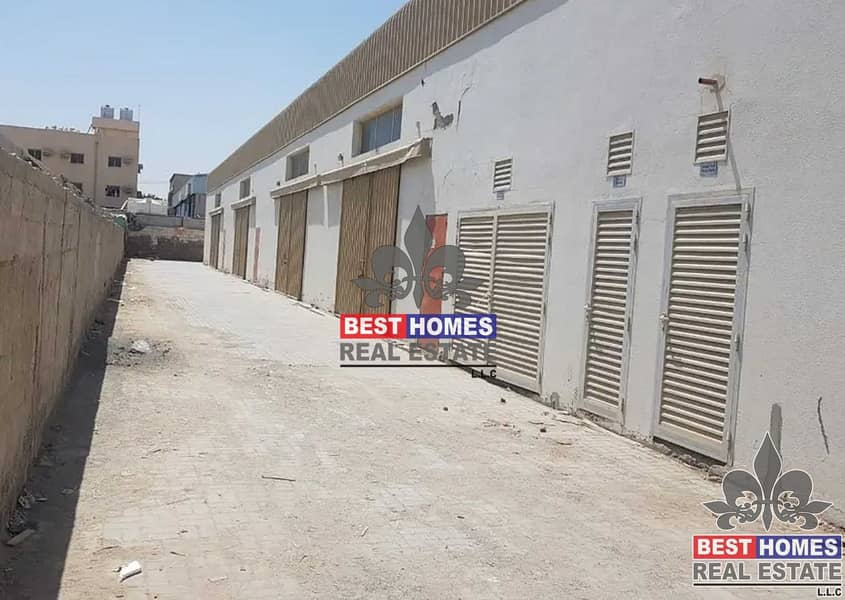 9 Warehouse/ 1600 sq ft / New industrial area