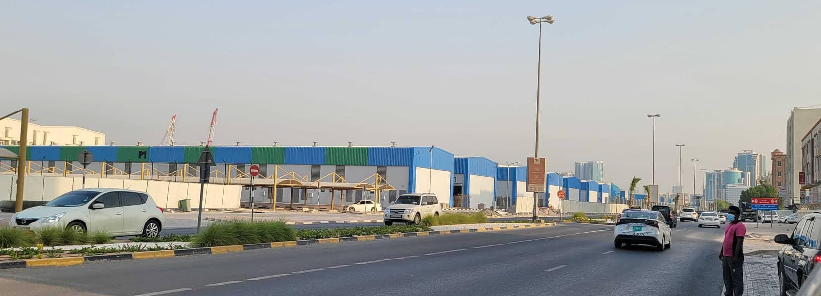 2 land for sale in ajman opposit ajman port