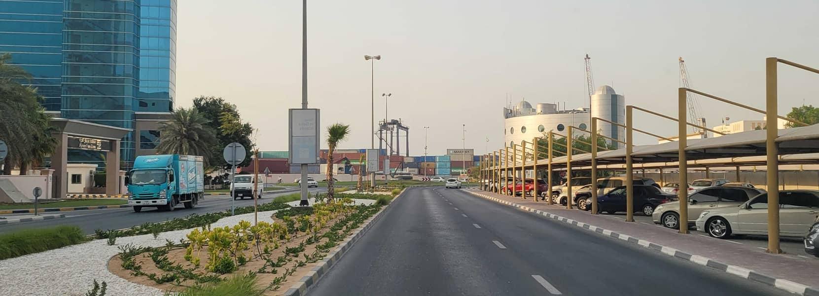 7 land for sale in ajman opposit ajman port