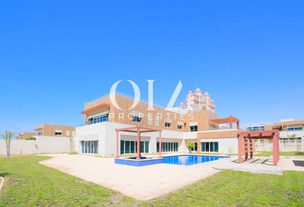 7 Bedroom Villa for Sale in The Marina, Abu Dhabi - Signature Living in Luxurious 7+M| Large Garden | Private Swimming Pool