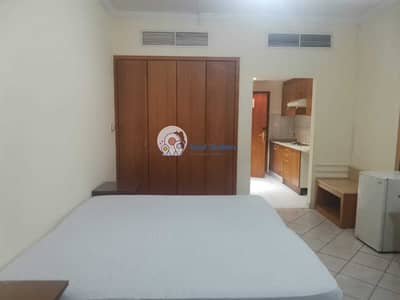 Studio for Rent in Bur Dubai, Dubai - MONTHLY FOR RENT FULLY FURNISHED STUDIO IN JUST 3500  AL INCLUDED
