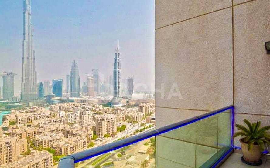 Penthouse + Modern Furniture Inc + Burj Views!