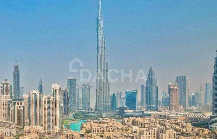 2 Penthouse + Modern Furniture Inc + Burj Views!