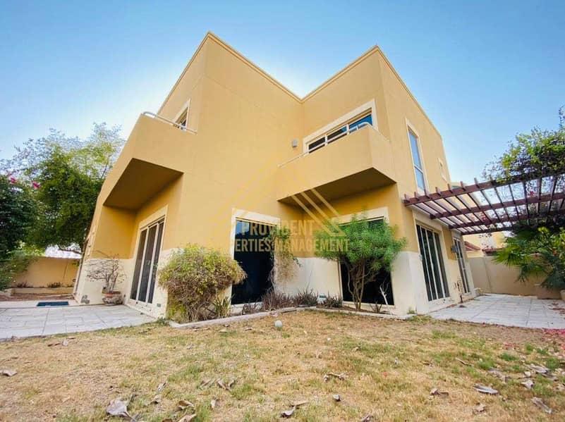 Prime Location | 4 BR Villa with Huge Garden | Secured Community