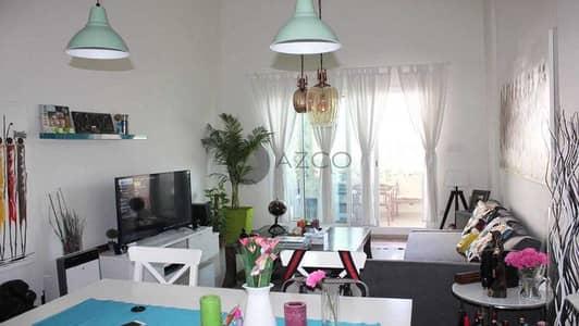 فلیٹ 1 غرفة نوم للايجار في قرية جميرا الدائرية، دبي - مفروشة بالكامل   معيشه واسعه   بارك فيو