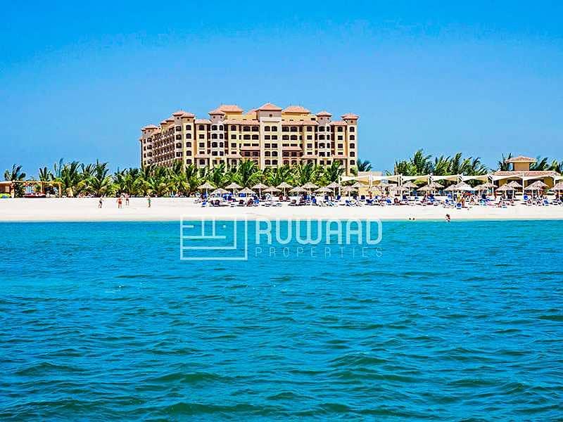 1BHK  Sea View   Furnished  Al Marjan