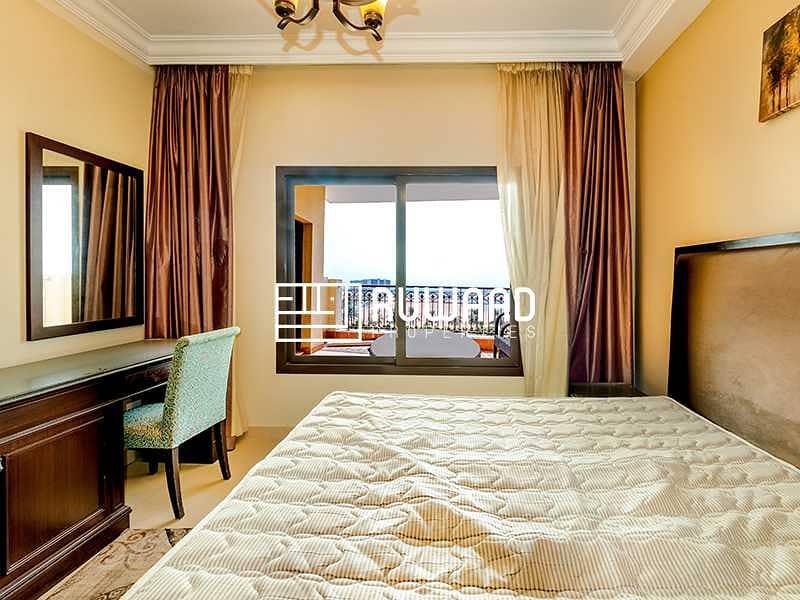 15 1BHK  Sea View   Furnished  Al Marjan