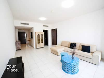 1 Bedroom Flat for Rent in Dubai Marina, Dubai - High Floor   Fully Furnished   Large size