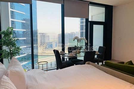 استوديو  للايجار في الخليج التجاري، دبي - Fully Furnished | High Floor | 1 Month Free