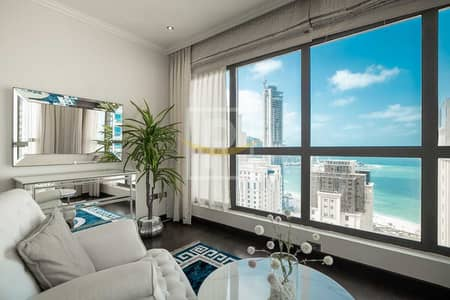 4 Bedroom Flat for Sale in Jumeirah Beach Residence (JBR), Dubai - Fully Upgraded and Furnished 4 Bedroom with Sea and Dubai Eye View