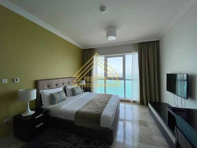 1 Bedroom Flat for Rent in Corniche Area, Abu Dhabi - Furnished Sea view | Bills Included | Classy Furniture