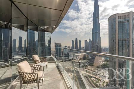 3 Bedroom Apartment for Rent in Downtown Dubai, Dubai - All Bills Inc. | Burj Khalifa View | Vacant