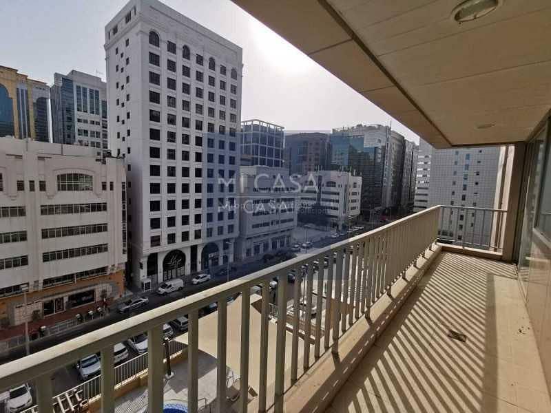 شقة في المعمورة آل نهيان 1 غرف 60000 درهم - 5259476