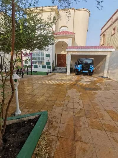 5 Bedroom Villa for Rent in Al Rawda, Ajman - Very excellent villa for rent in Al Rawda 2 Another piece of Al-Tallah Street With air conditioners, electricity, citizen Ajman