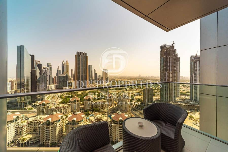 2 High Floor | Panoramic Views | Fully Serviced