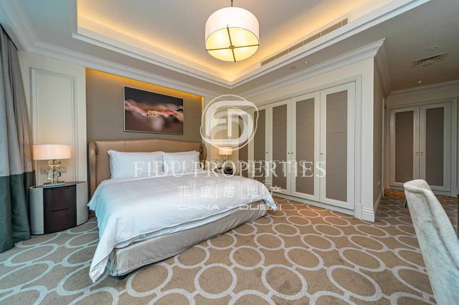 43 High Floor | Panoramic Views | Fully Serviced