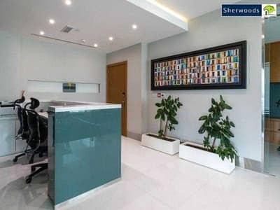 Office for Sale in Dafan Al Nakheel, Ras Al Khaimah - Executive Office - Mangrove and City Views