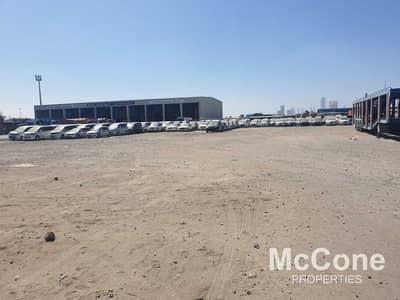 ارض تجارية  للايجار في رأس الخور، دبي - Vacant | Prime Location | Massive Plot