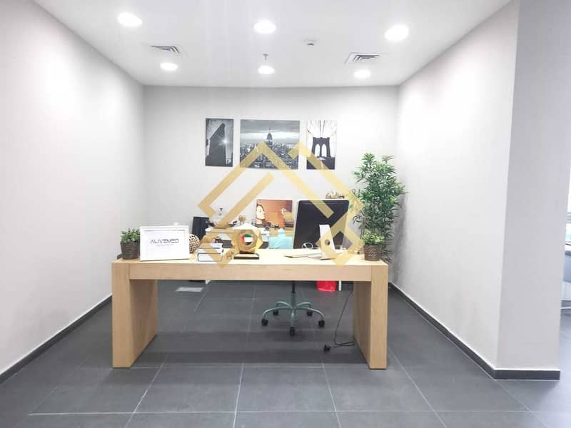 High Floor Furnished  Office For Sale.
