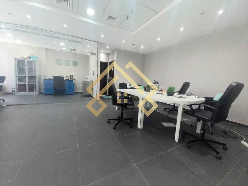 9 High Floor Furnished  Office For Sale.