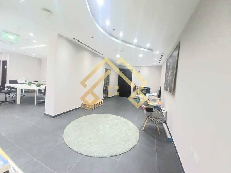 2 High Floor Furnished  Office For Sale.