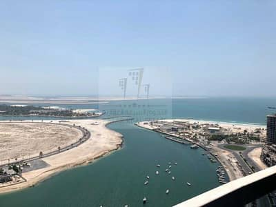 3 Bedroom Flat for Sale in Al Khan, Sharjah - Full front view in luxury tower
