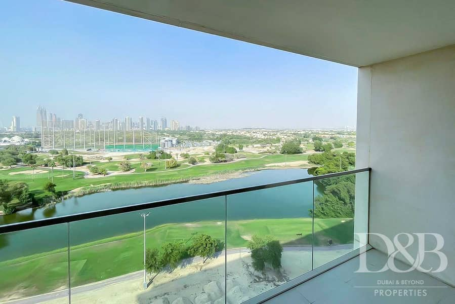2 Vacant | Full Golf Course View | Balcony