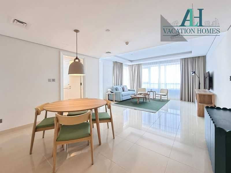 2 Brand New - Sea View - Fully Serviced