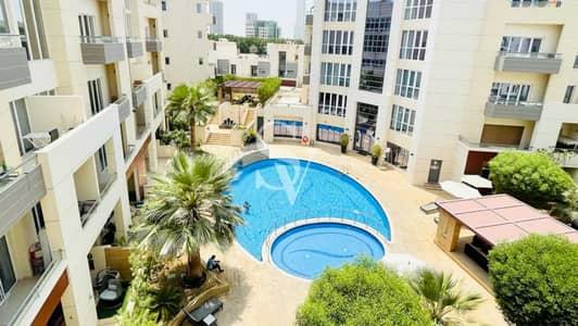 فلیٹ 1 غرفة نوم للايجار في قرية جميرا الدائرية، دبي - Pool Facing 1 Bed | Quiet Location