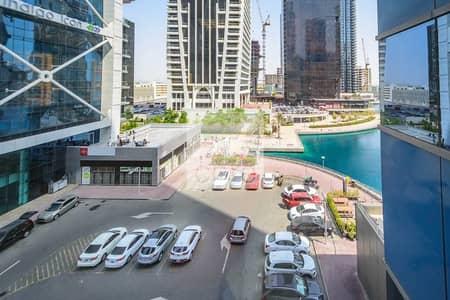 مکتب  للايجار في أبراج بحيرات الجميرا، دبي - Fitted Office | Close to Metro | Low Floor