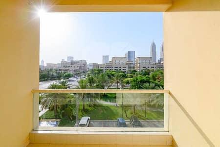 فلیٹ 1 غرفة نوم للايجار في الروضة، دبي - Large Layout with breathtaking view well maintained