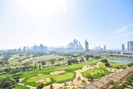 فلیٹ 3 غرف نوم للبيع في ذا فيوز، دبي - 3 Bed | Full Golf Course View | Rented
