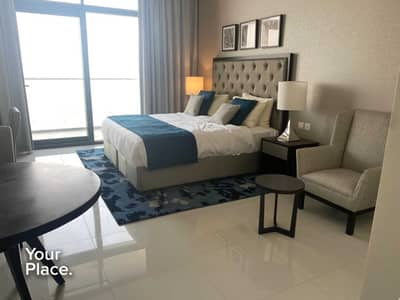 Studio for Sale in Dubai World Central, Dubai - Fully Furnished Studio - Vacant - Balcony