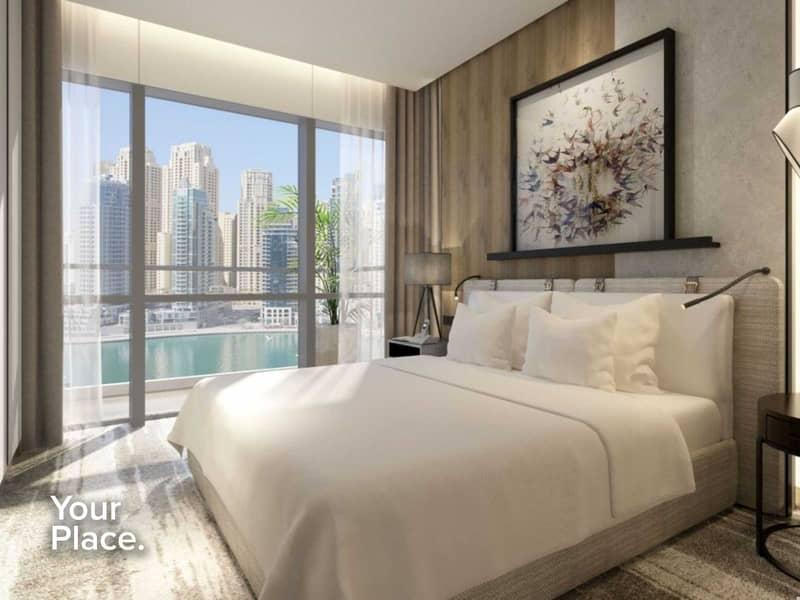 2 Re-sale  - Marina Views - Middle floor