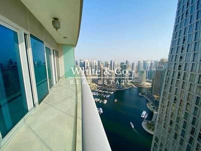 فلیٹ 1 غرفة نوم للايجار في دبي مارينا، دبي - Stunning Marina & Sea View