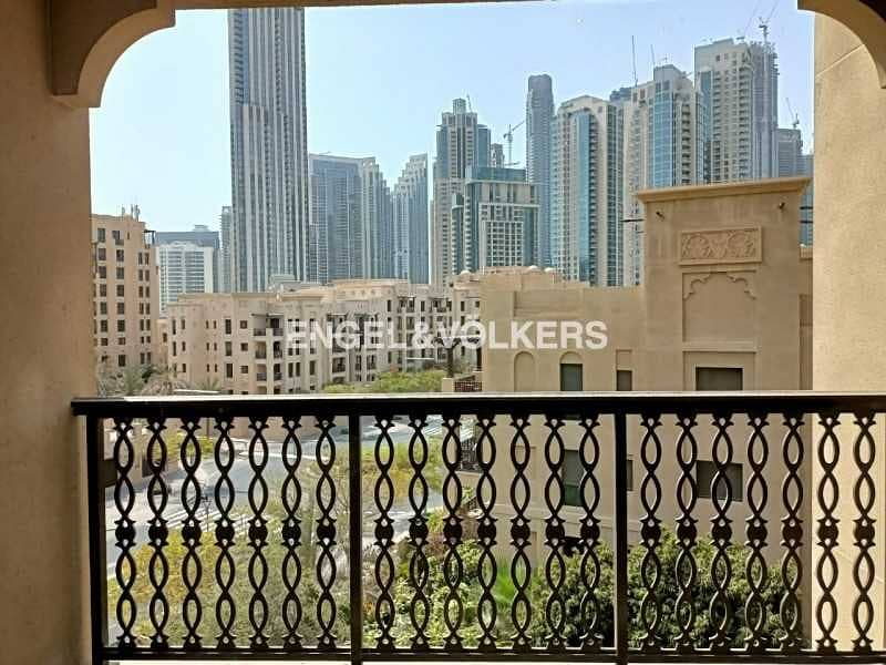 Fully Furnished | Burj View | Vacant Now