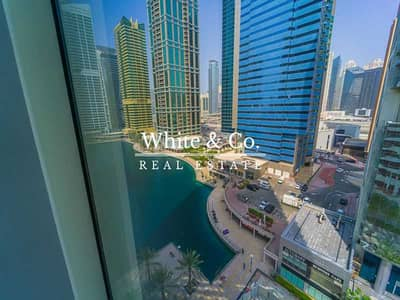 1 Bedroom Flat for Rent in Jumeirah Lake Towers (JLT), Dubai - MANAGED&EXCLUSIVE | Lake View | Semi Furnished