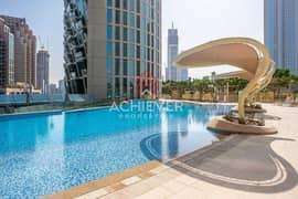 شقة في برج فيستا 1 برج فيستا وسط مدينة دبي 3 غرف 220000 درهم - 5335133